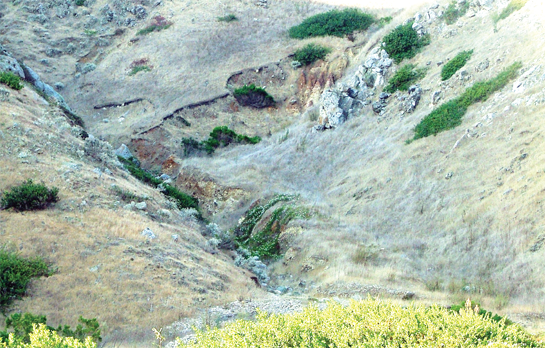 From Scarp To Toe Anatomy Of A Small Debris Flow Education At The
