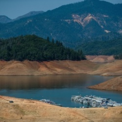Shasta Lake on 8/25/2014