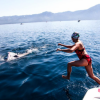 Women for Water Research make waves in the Trans Tahoe Relay swim